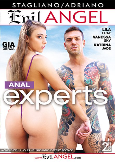 Anal Experts DVD