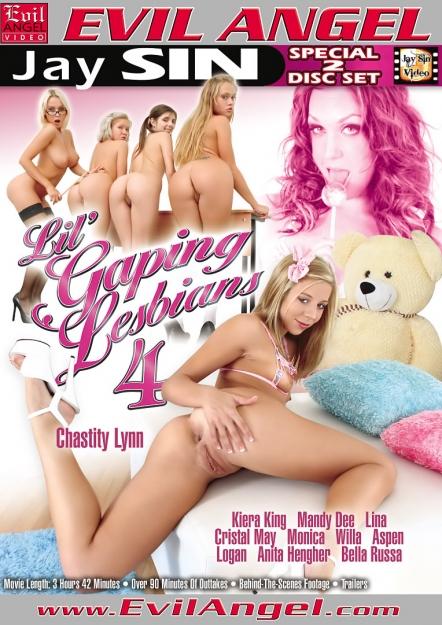 Lil Gaping Lesbians #04 DVD