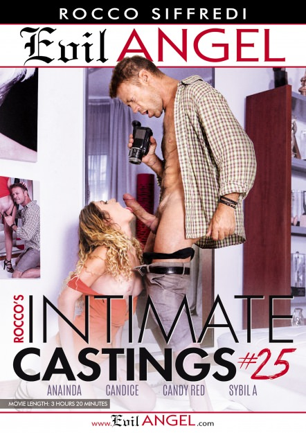 Rocco's Intimate Castings #25 DVD