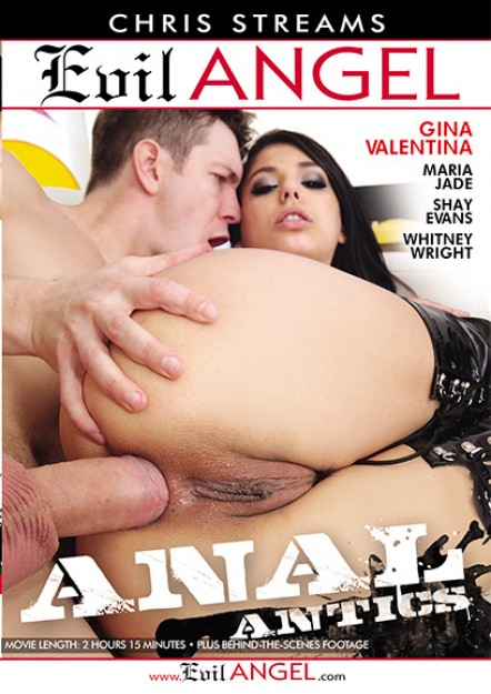 Anal Antics DVD