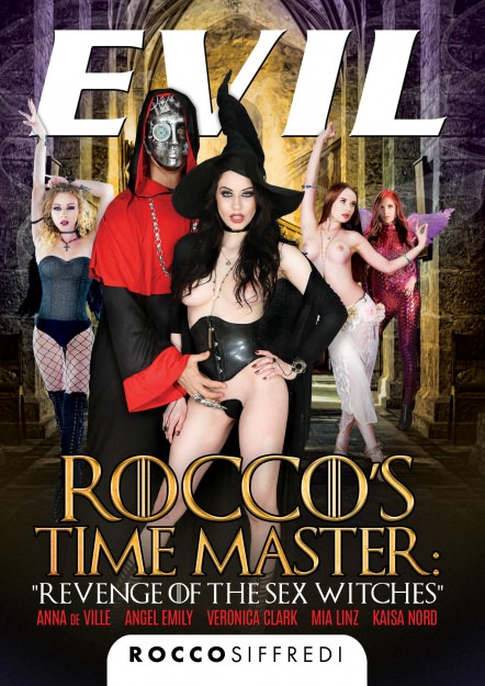 Rocco's Time Master Revenge of the Sex Witches DVD
