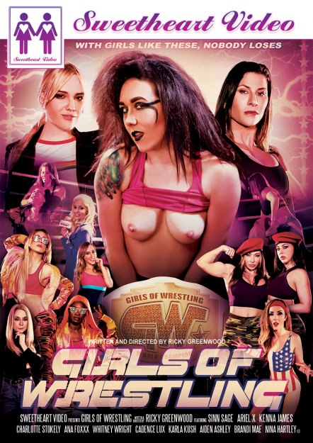 Girls Of Wrestling DVD