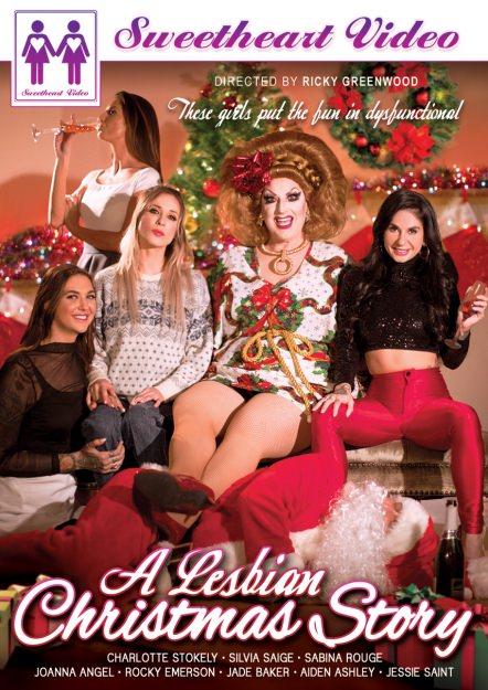 A Lesbian Christmas Story DVD