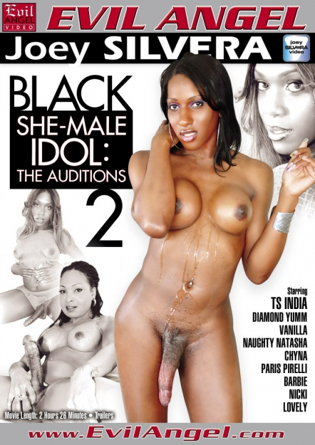 Black Shemale Idol - The Auditions #02 DVD