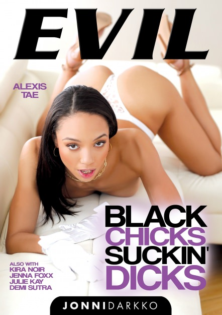 Black Chicks Suckin' Dicks DVD