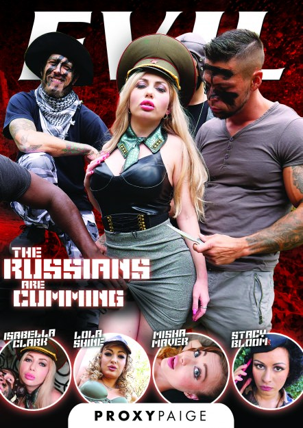 The Russians Are Cumming DVD