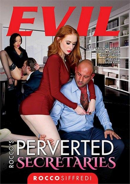 Rocco's Perverted Secretaries DVD