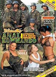 Anal Kommando DVD
