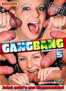 Vollgewichste Gang Bang Schlampen DVD