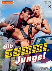 Gib Gummi, Junge! DVD