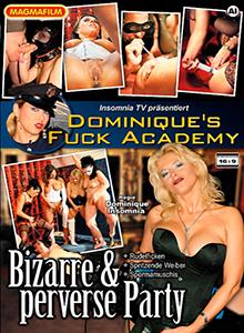 Dominiqü's Fuck Academy DVD