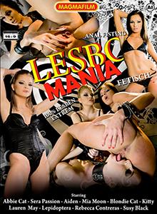 Lesbo Mania DVD