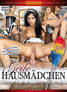 Geile Hausmädchen DVD
