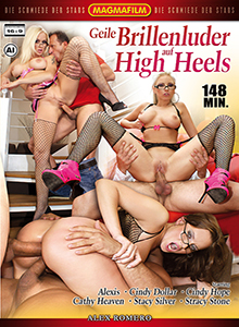 Geile Brillenluder auf High Heels DVD