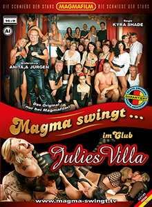Magma swingt im Swinger Club Julies Villa DVD