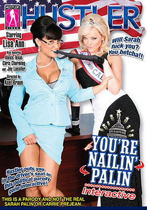 You're Nailin' Palin DVD