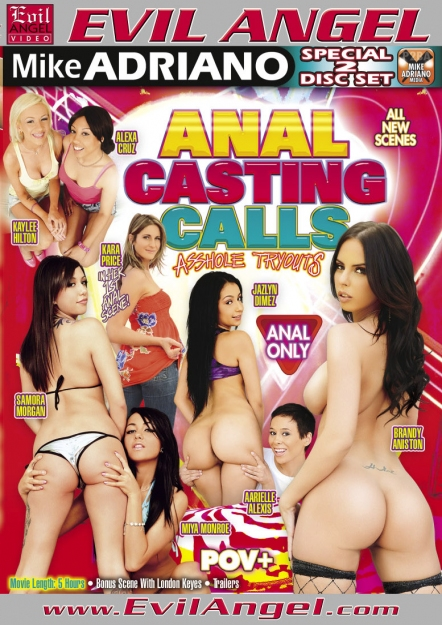 Anal Casting Calls DVD