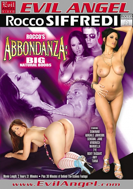 Rocco's Abbondanza:Big, Natural Boobs
