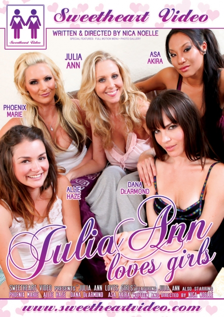 Julia Ann Loves Girls DVD