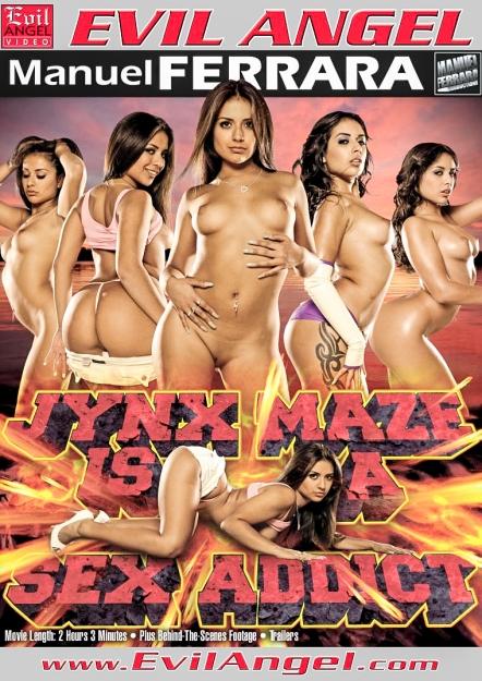 Jynx Maze Is A Sex Addict DVD