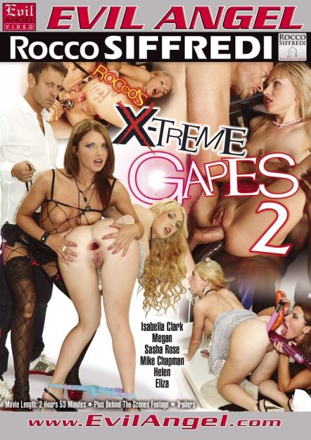 Rocco's X-treme Gapes #02 DVD