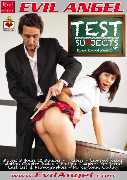Test Subjects DVD
