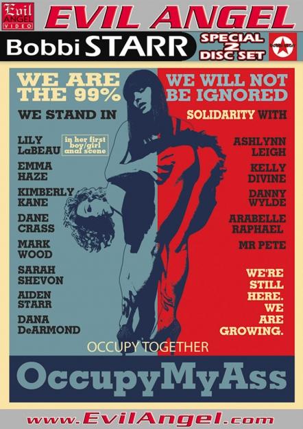 Occupy My Ass DVD