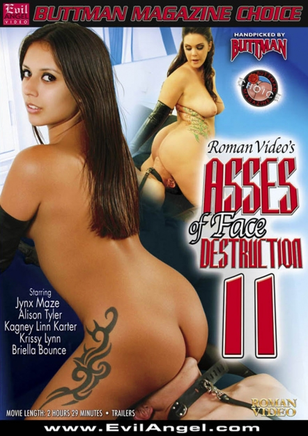 Asses Of Face Destruction #11 DVD