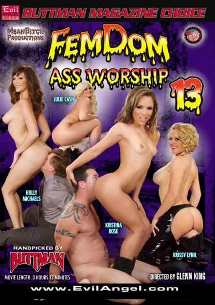 Femdom Ass Worship #13 DVD