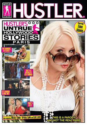 Hustler's Untrue Hollywood Stories - Paris DVD