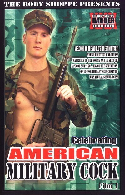 Celebrating American Military Cock #01