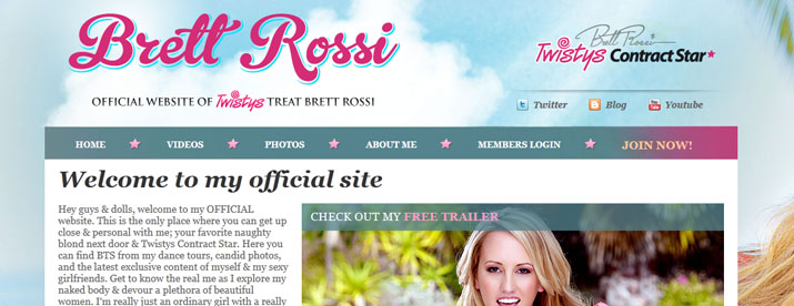 brett rossi website