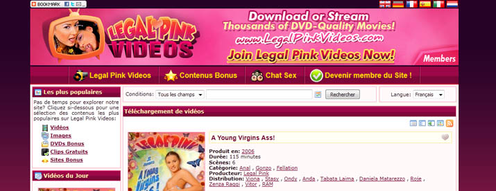 legal pink videos