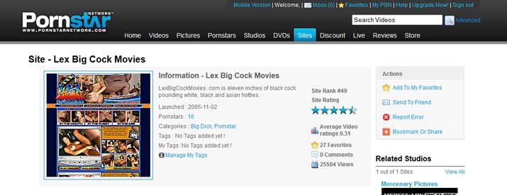 Lex Big Cock Movies 108