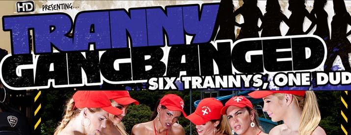 Tranny Gangbanged 116
