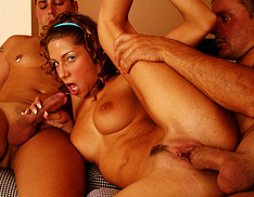 Teens First Threesome