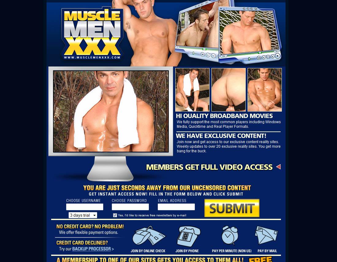 Muscle Xxx Men
