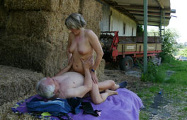 Amateur Outdoor German Grannies