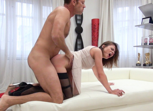Alena's Hard Anal Audition With