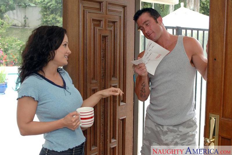 Neighbor Affair - Lisa Ann & Bil