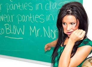 Peter North Is The Nasty Teacher
