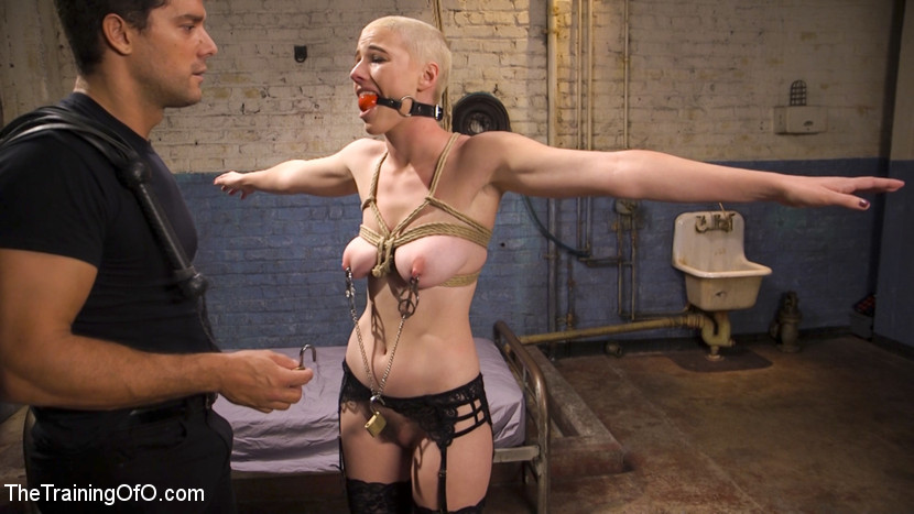 Slave Training Gorgeous Newbie: