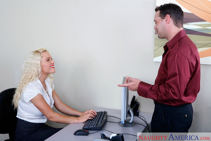 Naughty Office - Krissy Lynn & B