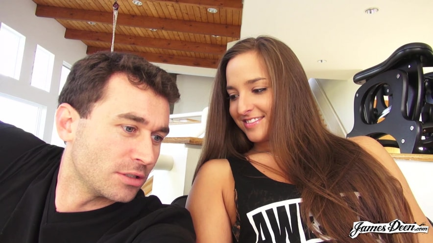 BTS of I Came On James Deen's Fa