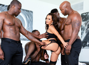Lisa Ann's Interracial DP BBC Ga