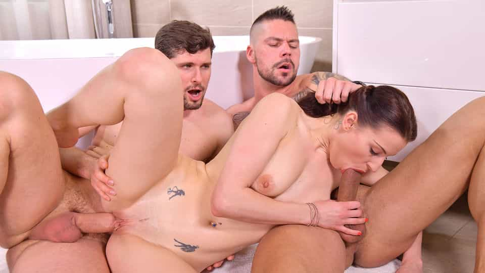 Cuck Husband Arranges DP Threeso