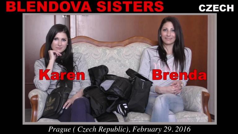Blendova sisters casting
