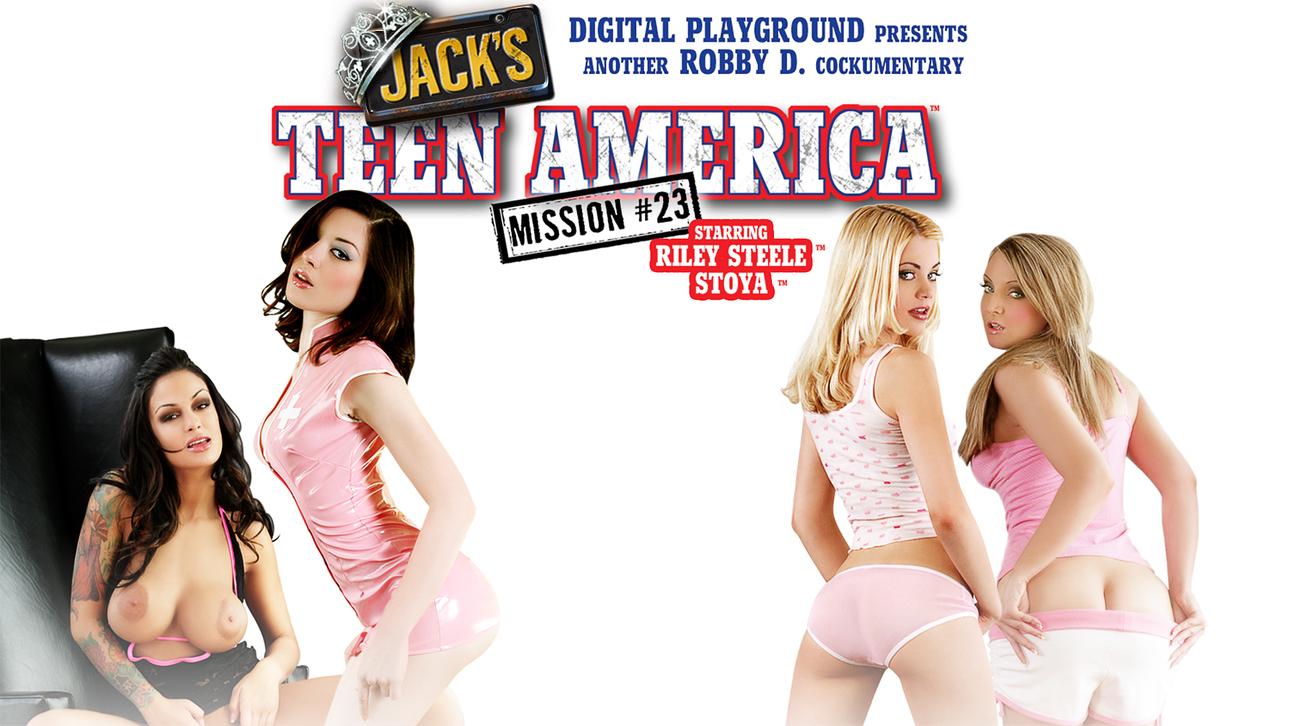 Jack's Teen America 23 Scène 1