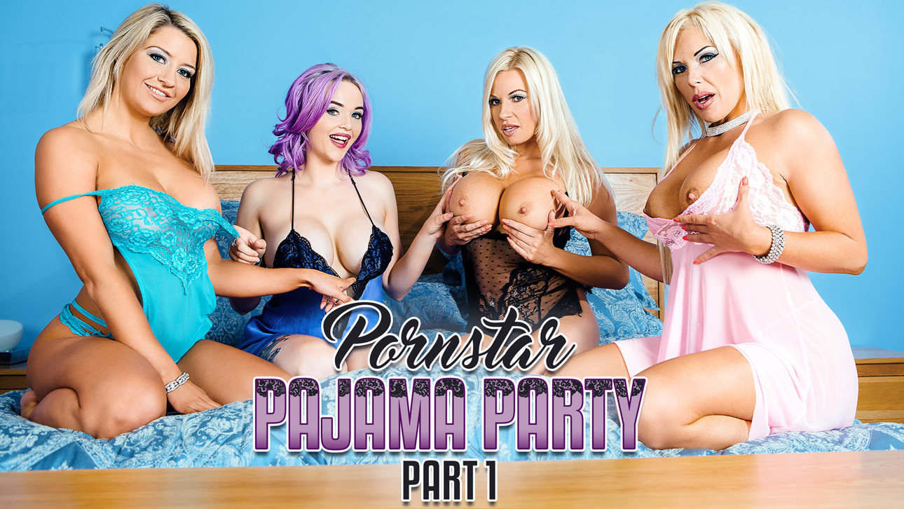 Porn Star Pajama Party Part 1