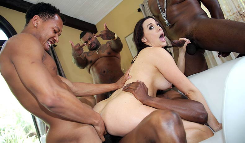 Blacks On Blondes - Chanel Prest